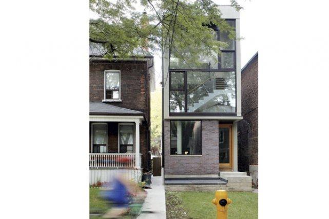 À Toronto, l'architecte Donald Chong a conçu une... (Photo: Bob Gundu)