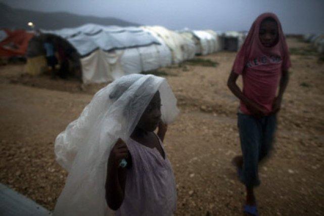 125 000 familles haïtiennes ont été installées dans... (Photo: AP)