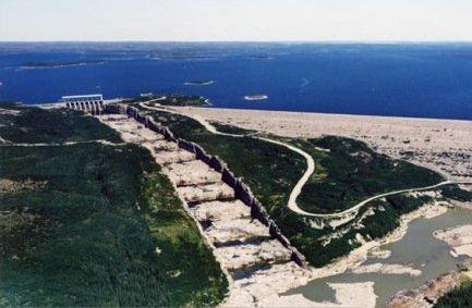 La centrale hydro-électrique LG2, à la baie James.... (Photothèque Le Soleil)