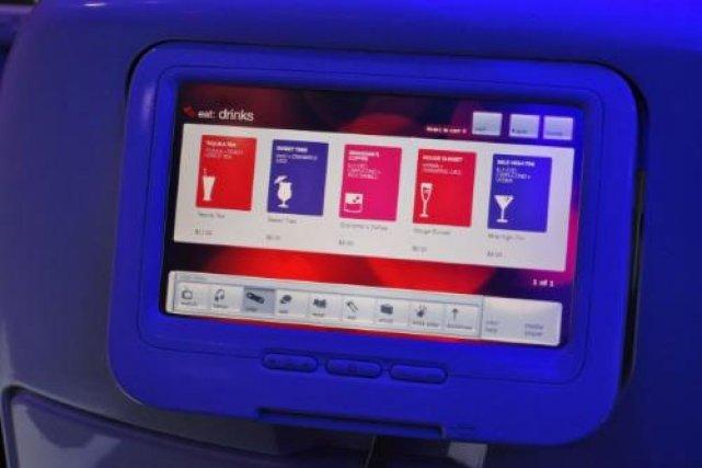 «Cocktails with Altitude», un service disponible sur le... (Photo fournie par Virgin America)