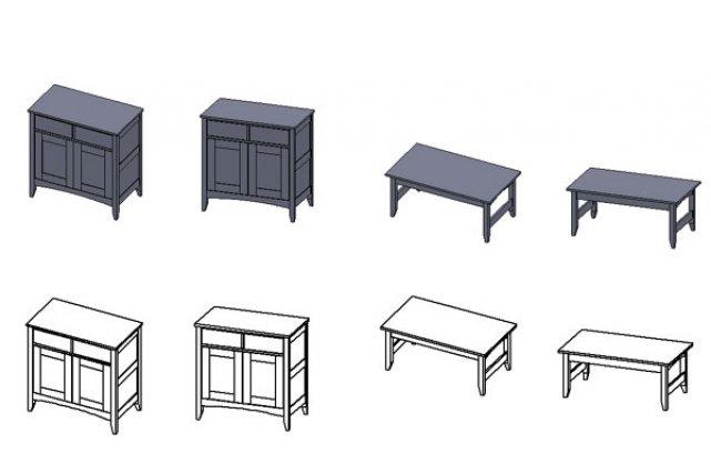 plans sur mesure pour ses nouveaux meubles carole thibaudeau r novation. Black Bedroom Furniture Sets. Home Design Ideas