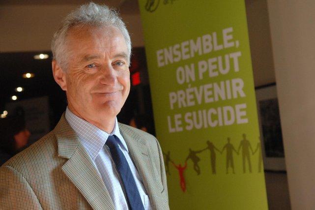 C'est à Gilles Légaré, professeur en sciences infirmières... (Photo: Ève Guillemette)