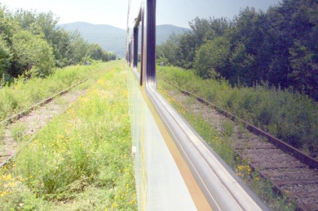 Le train touristique de Charlevoix aura de grandes... (Benjamin Gagnon)