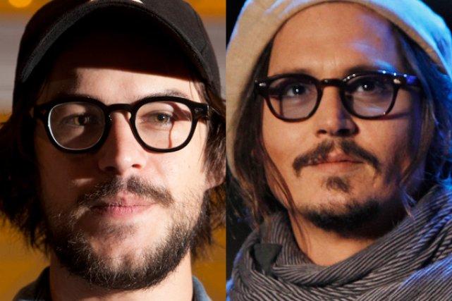 Marc-André Grondin et Johnny Depp....
