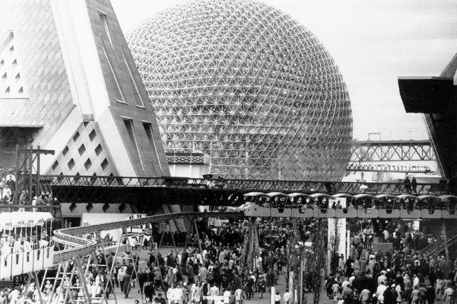 L'exposition universelle de 1967 représentera, comme en une... (PHOTO: ARCHIVES LA PRESSE)