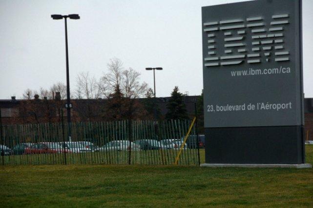 La compagnie IBM réembauche ses ex-employés retraités.... (Archives La Presse)