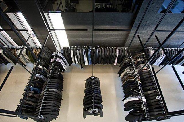 La nouvelle boutique de Michel Brisson, sur Laurier.... (Photo: François Roy, La Presse)