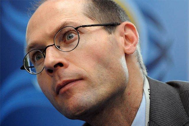 Le Belge Olivier De Schutter, rapporteur spécial de... (Photo: AFP)