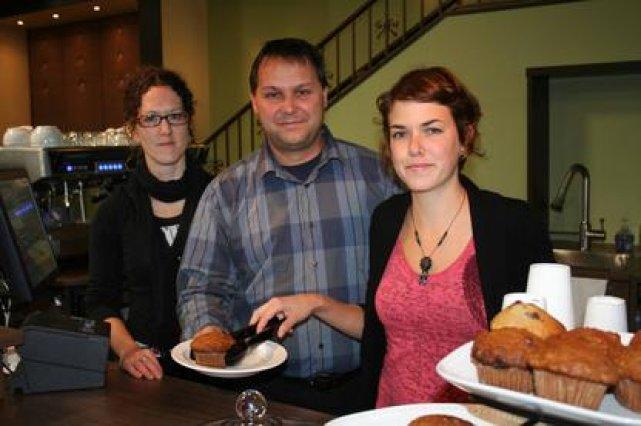 Stéphane Leblanc vient d'ouvrir le Café Méridien à... (La Tribune, Yanick Poisson)
