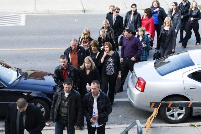 Les membres de la famille de Jessica Lloyd,... (Photo: PC)