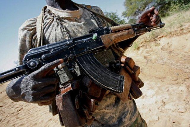 «Le fait que la Chine fournit des armes... (Photo: Stuart Price, AFP)