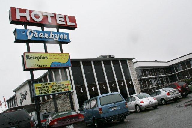 L'hôtel Le Granbyen ne recevra pas de couples... (photo archives La Voix de l'Est)