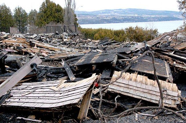 Incendie de la maison donohue la malbaie poursuivie pour for Assurance incendie maison