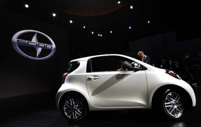 La Scion iQ va être lancée l'an prochain... (Photo: Reuters)