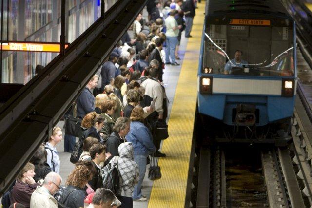 Que les Montréalais qui râlent contre leur service de métro et d'autobus se le... (Photo: Ivanoh Demers, La Presse)
