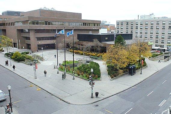 La Ville invoque l'urgence d'agrandir la bibliothèque Gabrielle-Roy,... (Photothèque Le Soleil, Jean-Marie Villeneuve)