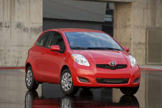 La Toyota Yaris est considérée comme l'un des... (Photo fournie par Toyota)