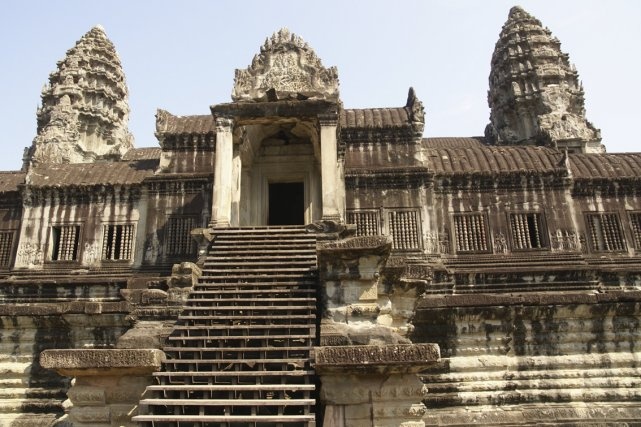Le site historique d'Angkor au Cambodge... (Photo: Archives AFP)