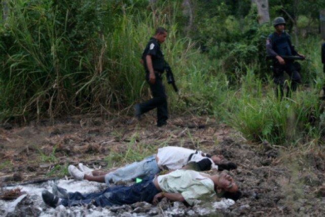 La région d'Acapulco a été le théâtre ces... (Photo: AFP)