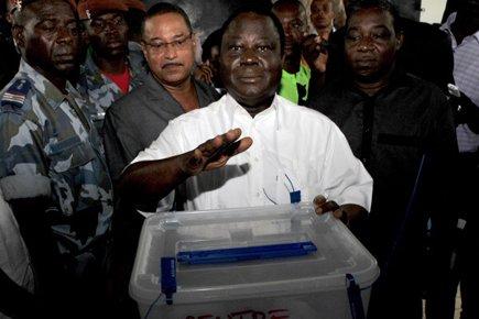 L'ex-président ivoirien Henri Konan Bédié.... (Photo: Issouf Sanogo, AFP)