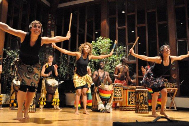 Gatineau vibrera aux rythmes de l'Afrique de l'Ouest, ce soir et demain, alors... (Photo de courtoisie, Stéphane Boucher)