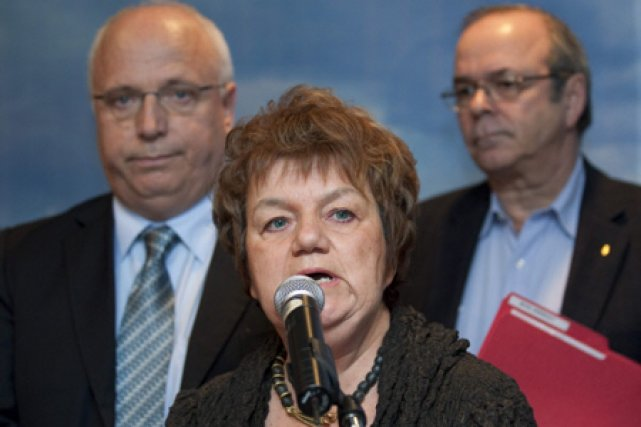 Tous les chefs des principaux syndicats du Québec... (Photo: PC)
