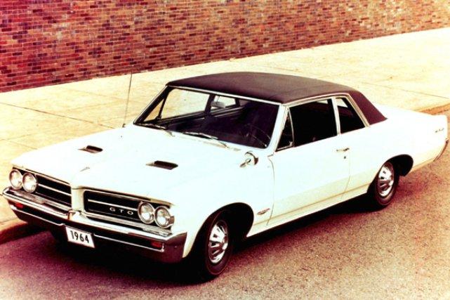 C'est avec le lancement de la GTO 1964... (Photo fournie par GM)
