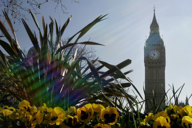 L'horloge Big Ben de Londres... (Photo: AP)
