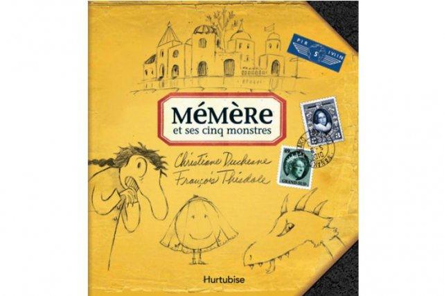 L'auteure jeunesse québécoise Christiane Duchesne et l'illustrateur François...