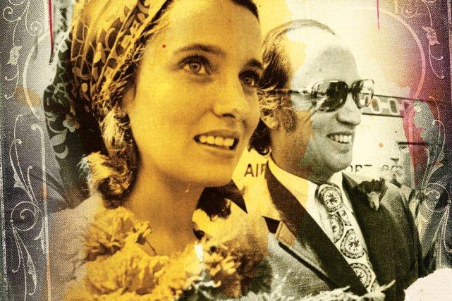 En 1968, Margaret Sinclair avait 20ans. C'était une rebelle sans cause, avec... (Photo: archives La Presse, graphisme Jacques-Olivier Bras, La Presse)