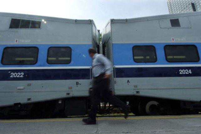 Montréal veut des tramways. La Rive-Sud réclame encore son train léger. Laval... (Photo: Patrick Sanfaçon, La Presse)
