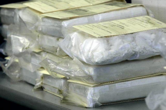 «Il s'agit de la saisie de cocaïne la... (Photo: Nathan Denette, PC)