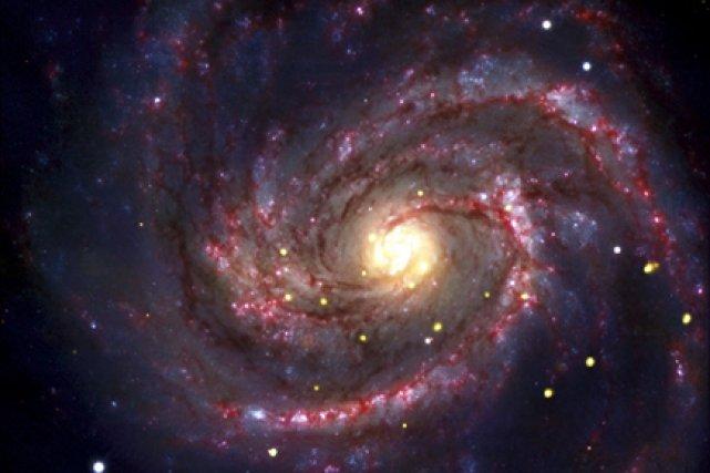 Les astrophysiciens pensent que ce trou noir est... (Photo: AP)