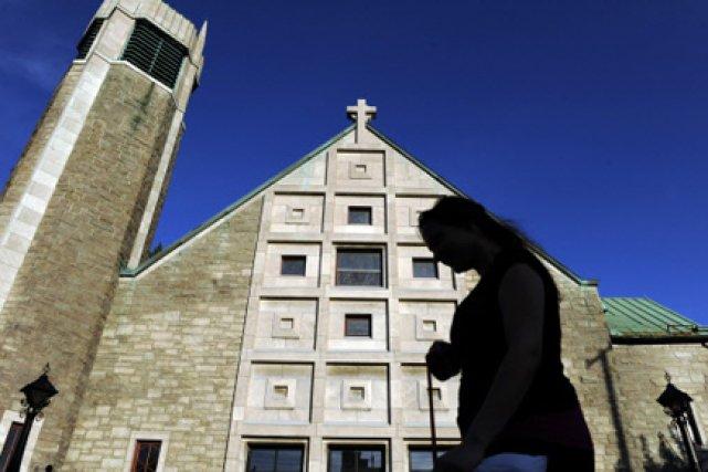 Depuis quelque mois, plusieurs fidèles craignent que la... (Photo: Bernard Brault, La Presse)