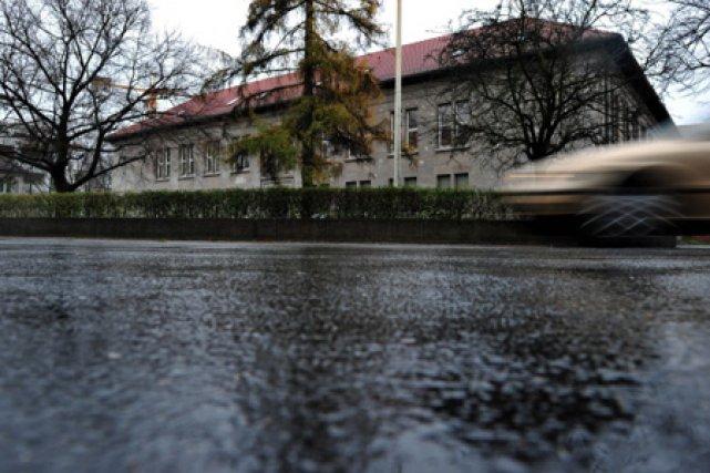 En Allemagne, la tempête est arrivée en janvier... (Photo: AFP)