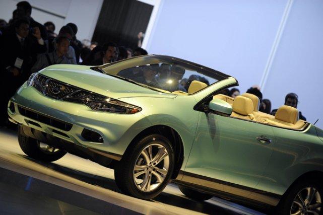 Le Murano cabriolet pourrait bientôt débarquer au Canada.... (Photo AFP)