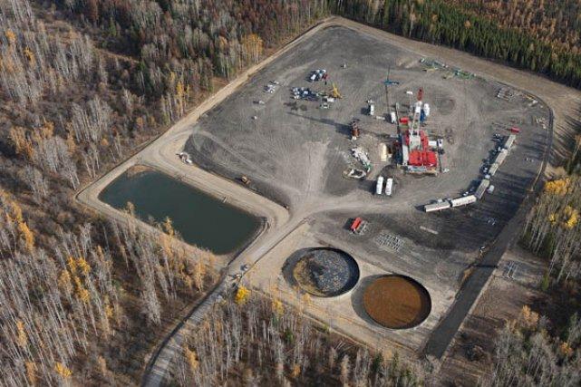 Le réservoir Williston, dans le nord-est de la... (Photo Garth Lenz, collaboration spéciale)
