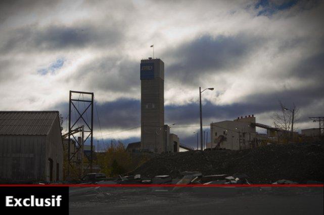 La relance de la mine Jeffrey permettrait de... (Photo: André Pichette, archives La Presse)