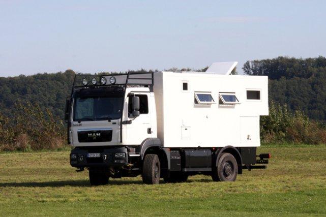 Le nouveau Dakar 740, de Bocklet Fahrzeugbau.... (Photo fournie par Bocklet Fahrzeugbau)