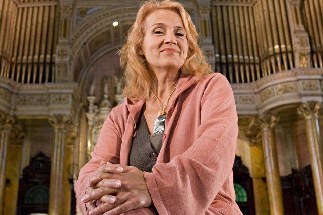 Présidente d'Artisti, la chanteuse Marie-Denise Pelletier a entrepris... (Photo: Patrick Sanfaçon, archives La Presse)