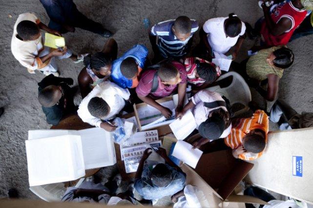 Le Conseil électoral provisoire a fini par admettre... (Photo: Maxime Corneau, collaboration spéciale)
