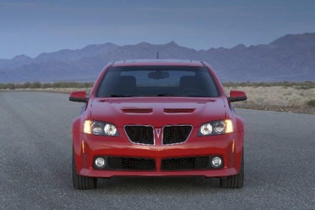 La Pontiac G8 sera de retour d'ici un an sous un nouveau nom de la marque... (Photo d'archives fournie par GM)