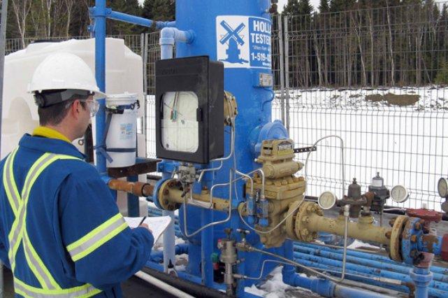 Le puits Haldimand No 1 continue de produire... (Collaboration spéciale, Geneviève Gélinas)