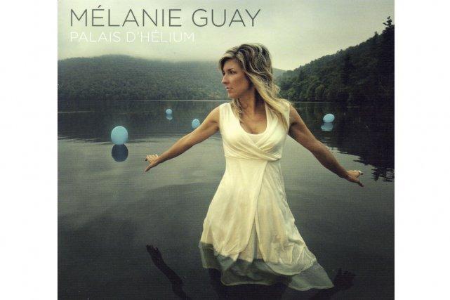 Pochette cd de Mélanie Guay...
