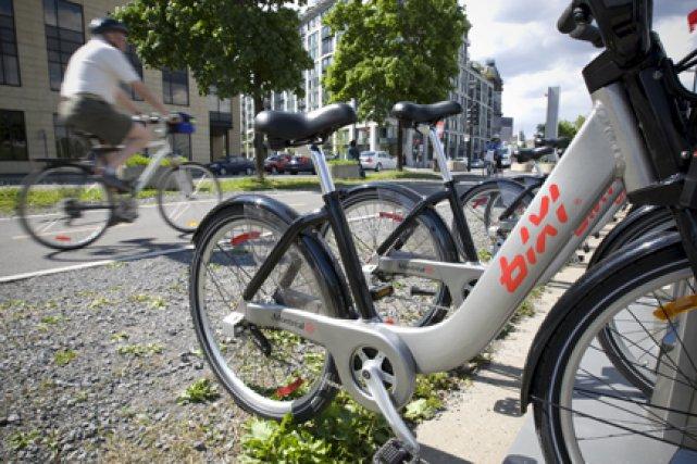 À Montréal, pas moins de 5050  vélos... (Photo: André Pichette, La Presse)
