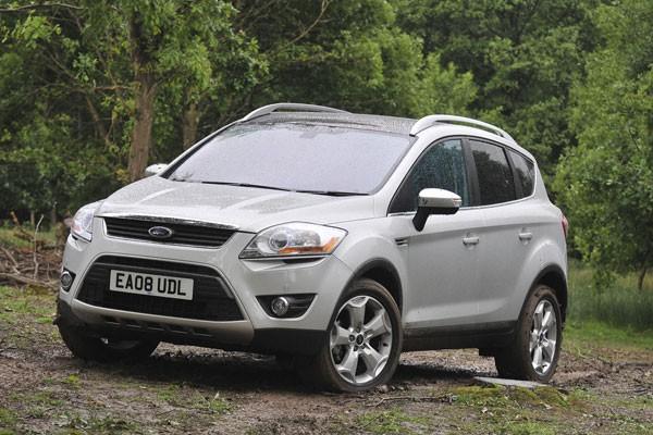Les dimensions du Ford Kuga sont similaires à... (Photo: Ford)