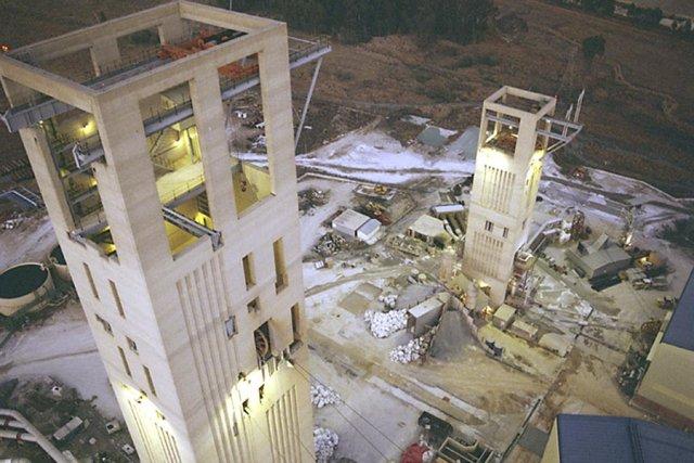En 2011 seulement, les activités de Barrick Gold... (Photo: Bloomberg News)