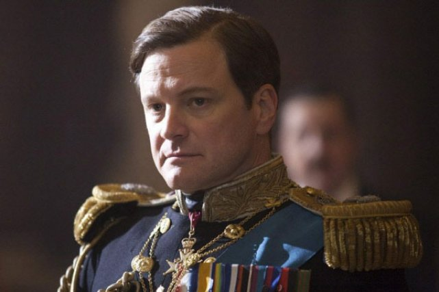 Dans The King's Speech, on voit le roi... (Photo AP)