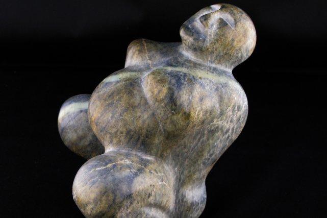 Sculptures de l'exposition Maternité, de Patrick Cady.... (Photo fournie par l'Artiste)