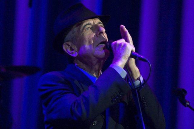 Le chanteur montréalais Leonard Cohen lors d'un des... (Photo: AP)